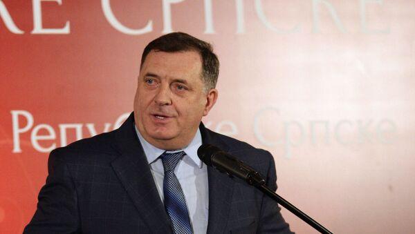 Milorad Dodik na prijemu povodom Dana RS i prvog Ustava RS - Sputnik Srbija