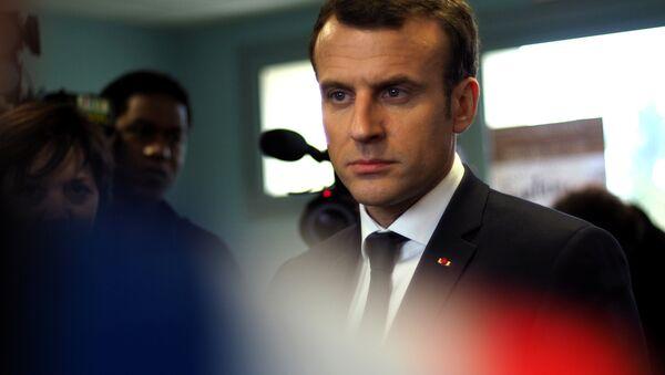Predsednik Francuske Emanuel Makron - Sputnik Srbija