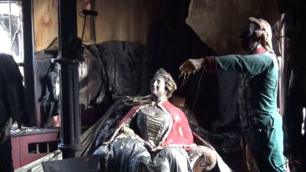 Požar u Muzeju voštanih figura u Krasnojarsku - Sputnik Srbija