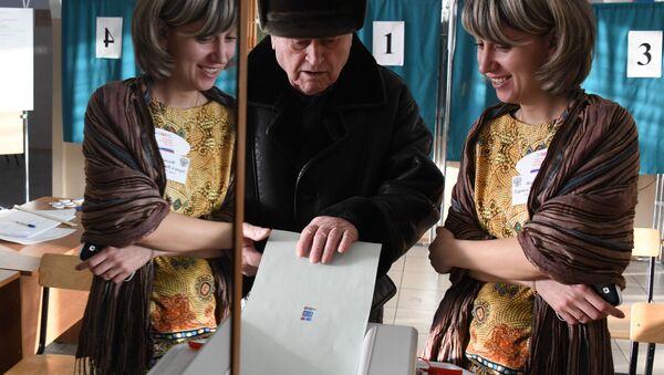 Predsednički izbori u Rusiji 2018. - Sputnik Srbija