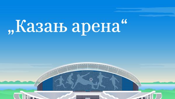 Казањ Арена - Sputnik Србија
