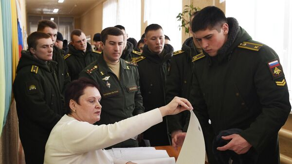 Питомци војне академије у Тјумену - Sputnik Србија