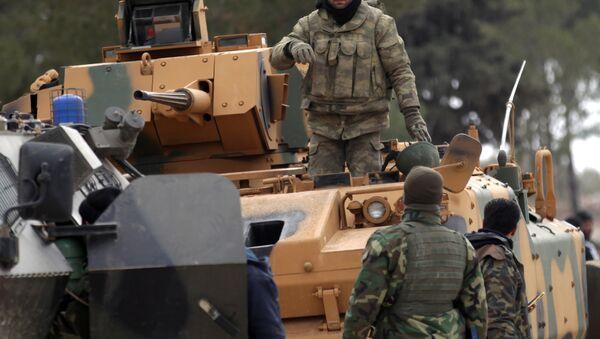 Turska vojska i sirijski pobunjenici - Sputnik Srbija