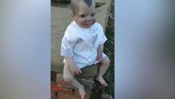 Đavolsko dete, lutka pronađena na groblju u Brazilu. - Sputnik Srbija