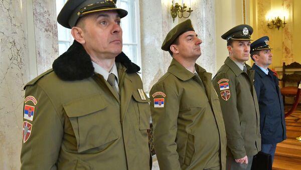 Novi vizuelni identitet Vojske Srbije - Sputnik Srbija