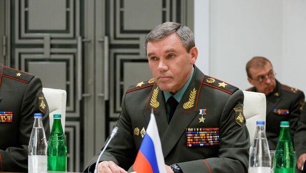 Načelnik Generalštaba Oružanih snaga Rusije Valerij Gerasimov - Sputnik Srbija