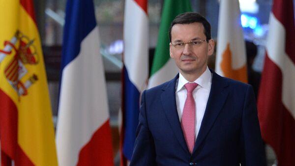 Пољски премијер Матеуш Моравјецки - Sputnik Србија