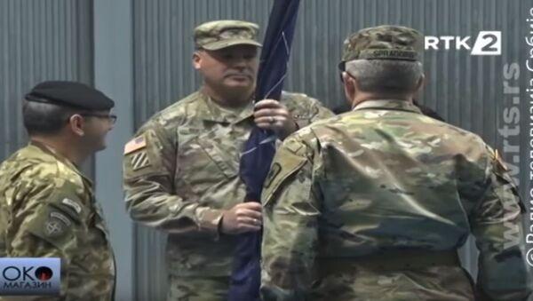 Nik Dučić, komandamt američkog kontigenta KFOR-a - Sputnik Srbija