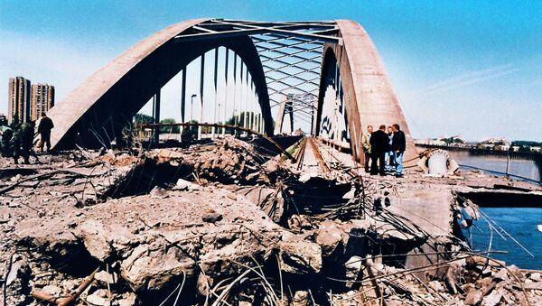 Бомбардовање Жежељевог моста - Sputnik Србија