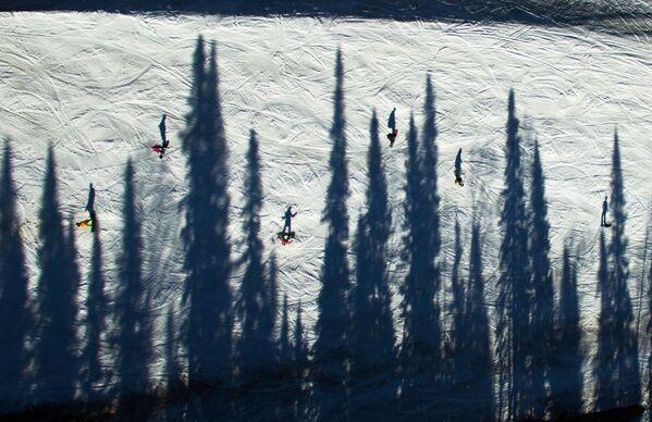 Експлозија геометријске лепоте: Фотографије Земље као уметничка дела - Sputnik Србија