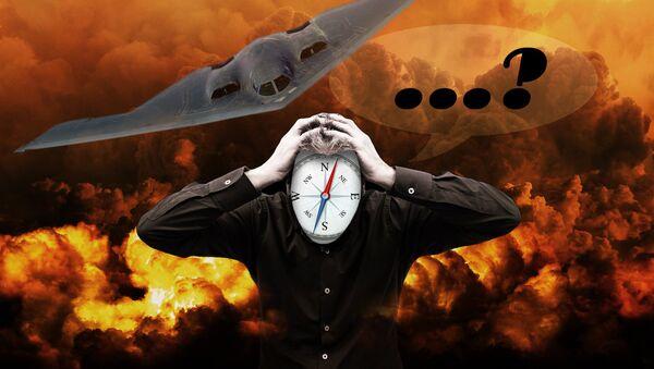 Izgubnjen kompas- ilustracija - Sputnik Srbija