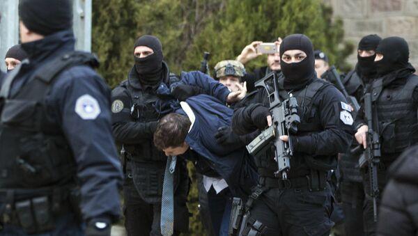 Policija tzv. Kosova hapsi Marka Đurića - Sputnik Srbija