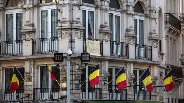 Zgrada Trga berze u Briselu - Sputnik Srbija