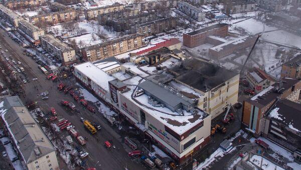 Зграда тржног центра Зимска вишња у Кемерову - Sputnik Србија