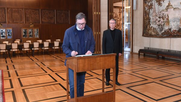 Александар Вучић и Александар Чепурин - Sputnik Србија
