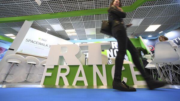 Штанд РТ Француска на међународном сајму аудио-визуелног садржаја у Кану - Sputnik Србија