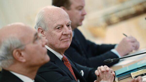 Специјални изасланик генералног секретара УН за Сирију, Стафан де Мистура - Sputnik Србија