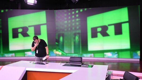 Studio televizije Russia Today u Moskvi - Sputnik Srbija