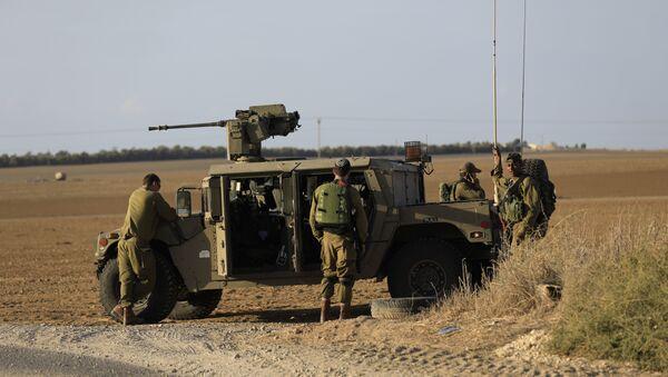 Izraelski vojnici u blizini pojasa Gaze - Sputnik Srbija