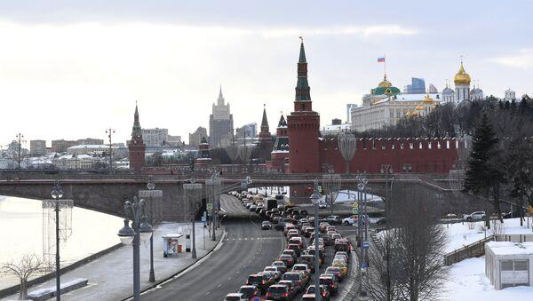 Московски Кремљ и обала реке Москве - Sputnik Србија