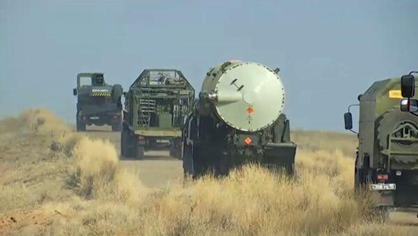 Testiranje nove modernizovane rakete PVO - Sputnik Srbija