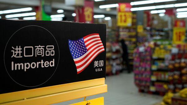 Производи из САД у маректу у Шангају. - Sputnik Србија