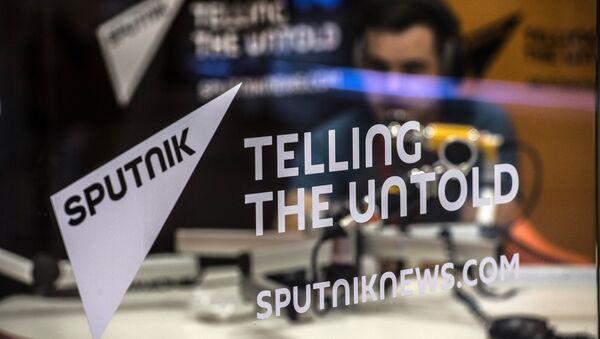 Štand informativne agencije i radija Sputnjik na Ekonomskom forumu u Vladivostoku - Sputnik Srbija