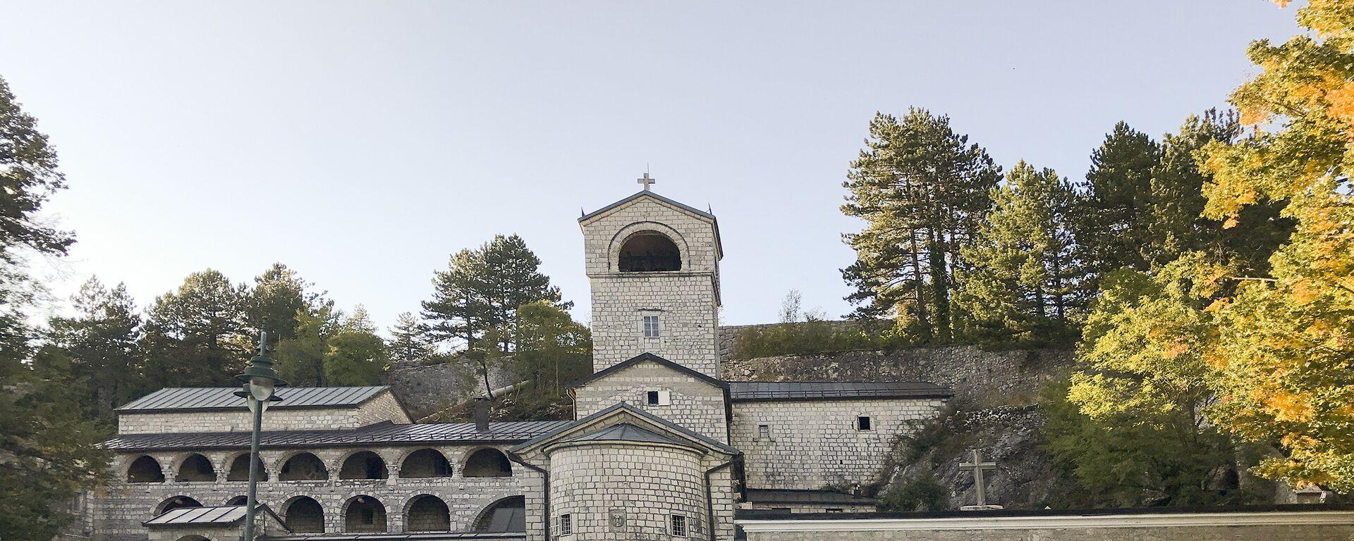 Cetinjski manastir - Sputnik Srbija, 1920, 03.09.2021