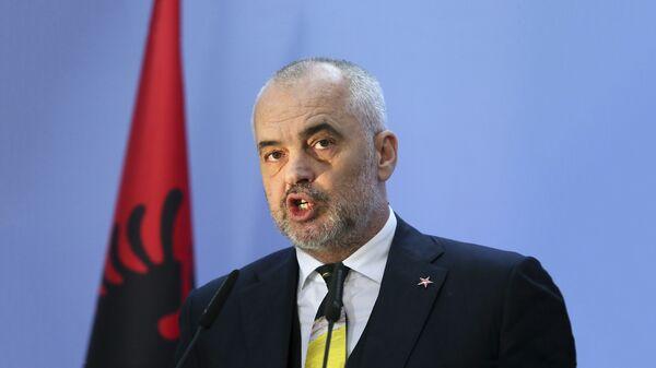 Premijer Albanije Edi Rama - Sputnik Srbija
