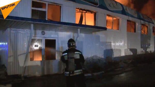 Požar u prodavnici igračaka u Tjumenu - Sputnik Srbija
