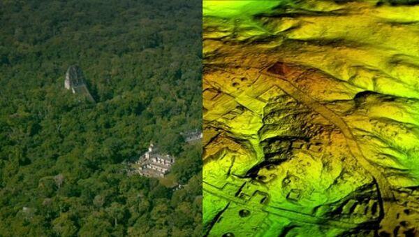 Drevni gradovi otkriveni u Gvatemali pomoću laserske tehnologije - Sputnik Srbija