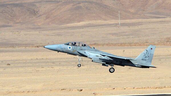 Avion F-15 izraelske vojske - Sputnik Srbija