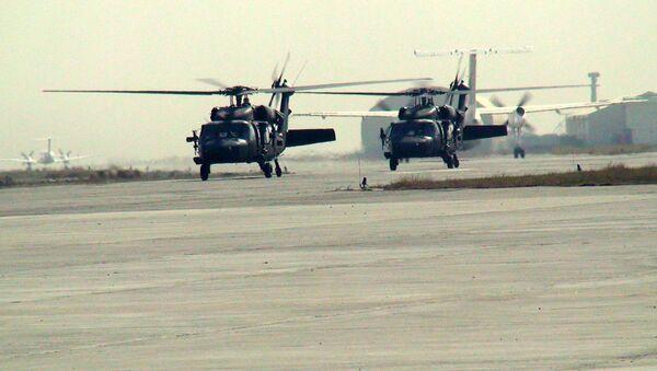 Хеликоптери Апач ИСАФ-а током операције у Капису у Авганистану - Sputnik Србија