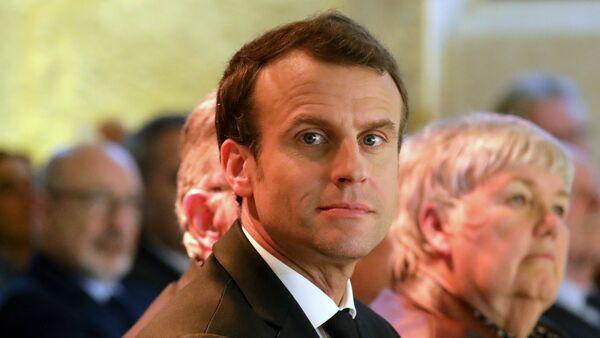 Председник Француске Емануел Макрон - Sputnik Србија