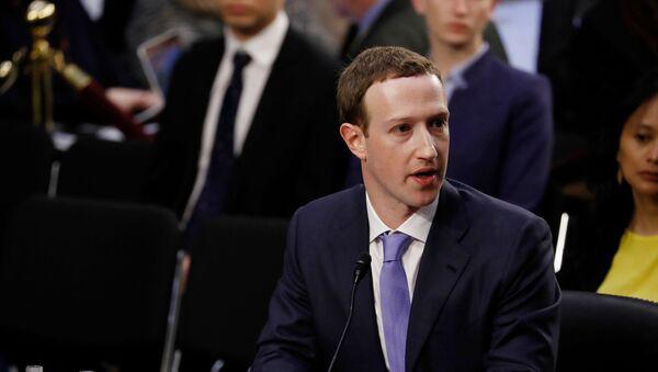 Vlasnik Fejsbuka Mark Zakerberg - Sputnik Srbija