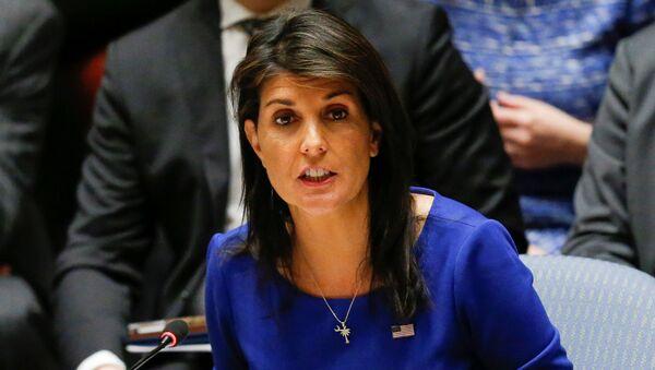 Стална представница САД при УН Ники Хејли - Sputnik Србија