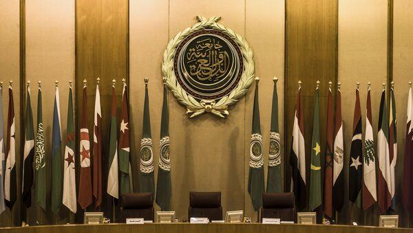 Sala za sednicu Arapske lige u Kairu - Sputnik Srbija