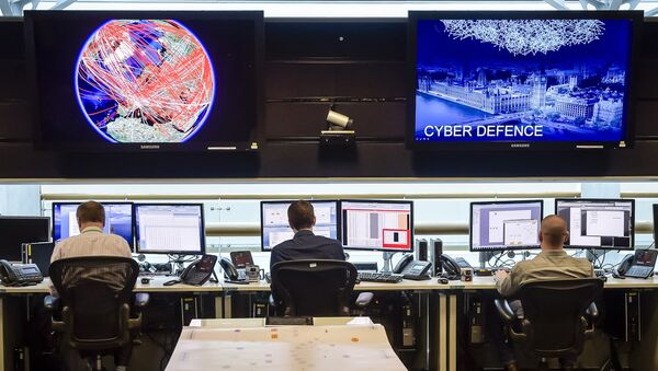 Operativni centar britanske agencije za sajber-bezbednost - Sputnik Srbija