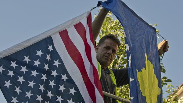 Заставе САД и Косова - Sputnik Србија