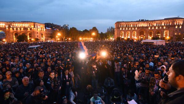 Протести у Јеревану - Sputnik Србија