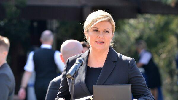 Predsednica Hrvatske Kolinda Grabar Kitarović - Sputnik Srbija