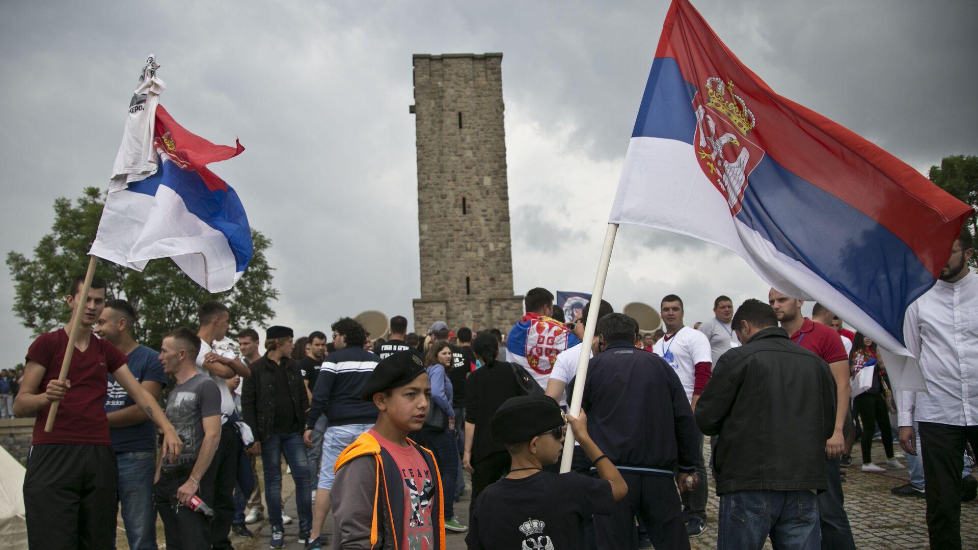 Srbi na Gazimestanu, KiM - Sputnik Srbija, 1920, 06.06.2021