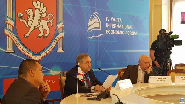Zamenik predsednika Saveta ministara Krima i stalni predstavnik republike pri predsedniku RF Georgij Muradov - Sputnik Srbija