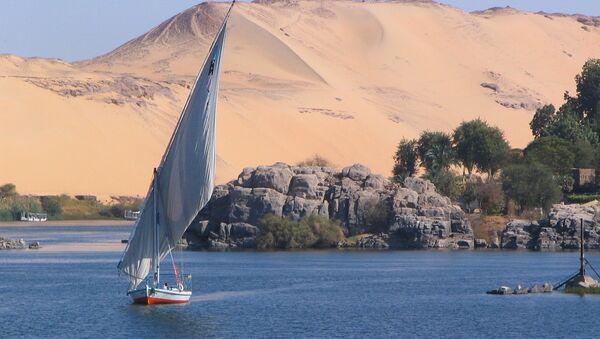 Obala Nila u okolini Asuana - Sputnik Srbija