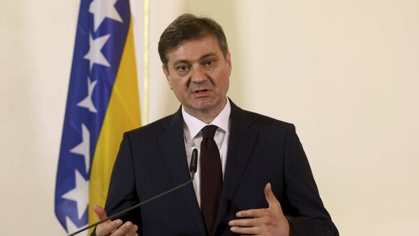 Denis Zvizdić - Sputnik Srbija