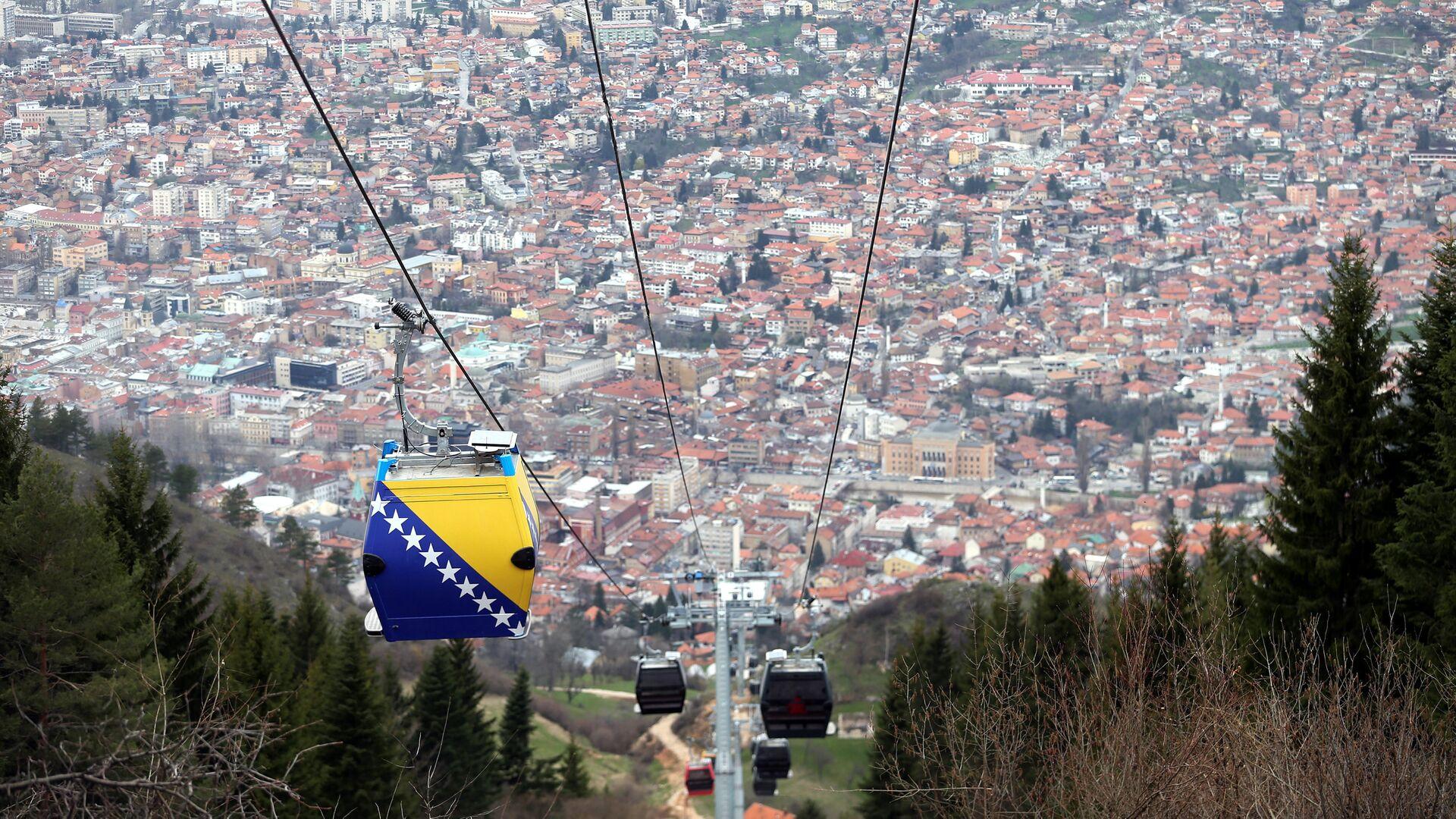 Pogled na grad Sarajevo  - Sputnik Srbija, 1920, 15.09.2021