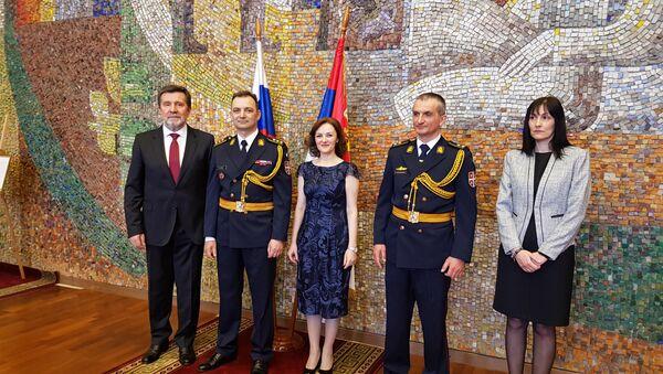 Прослава Дана војске Србије у амбасади у Моксви - Sputnik Србија