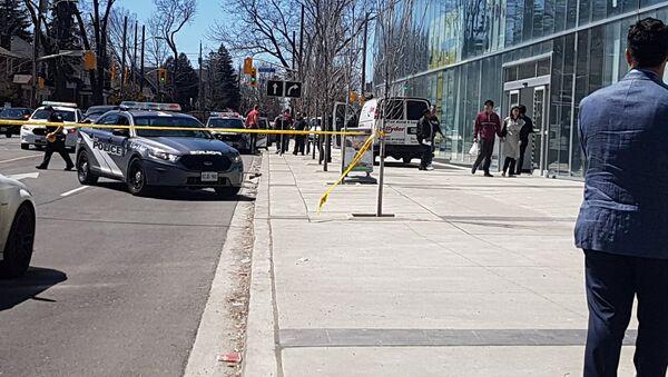 Policija na mestu nesreće u Torontu - Sputnik Srbija