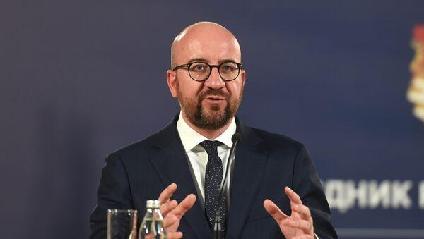 Premijer Belgije Šarl Mišel  - Sputnik Srbija