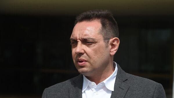 Министар одбране Србије Александар Вулин - Sputnik Србија